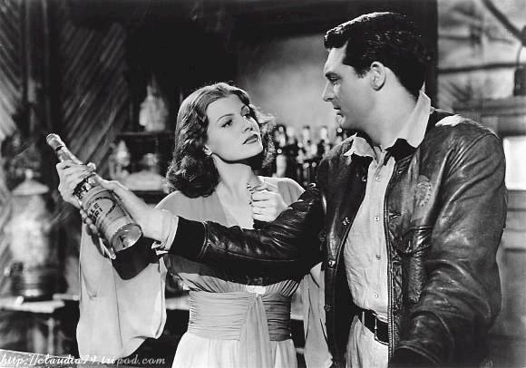Rita Hayworth and Cary Grant in Only Angels Have Wings