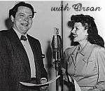 with Orson Welles