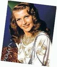 publicity shot of Rita as Gilda. Found on page 13