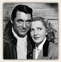 Cary Grant and Jean Arthur