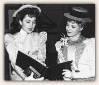 Rita and Olivia De Havilland